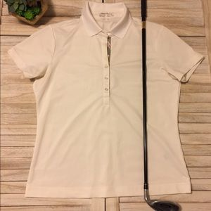 Nike Golf Fit Dry White Polo